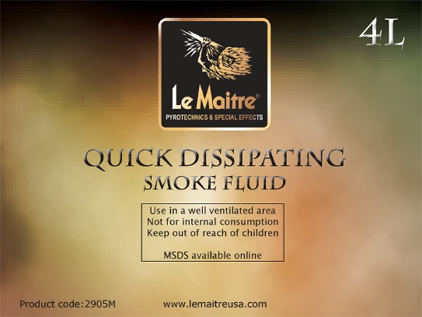 Quick & Extra Quick Dissipating Smoke/Fog Fluids